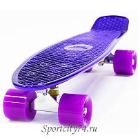 Миниборд Hubster Cruiser 22 Metallic Purple